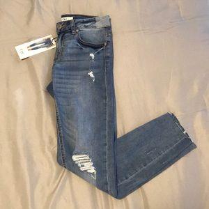 Dex Skinny Cropped Jeans NWT